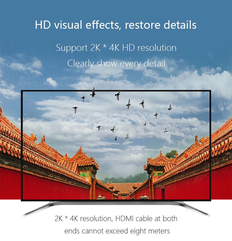4 in 1 out HDMI KVM switch 41HH2.0 supports 4k * 2k HD resolution