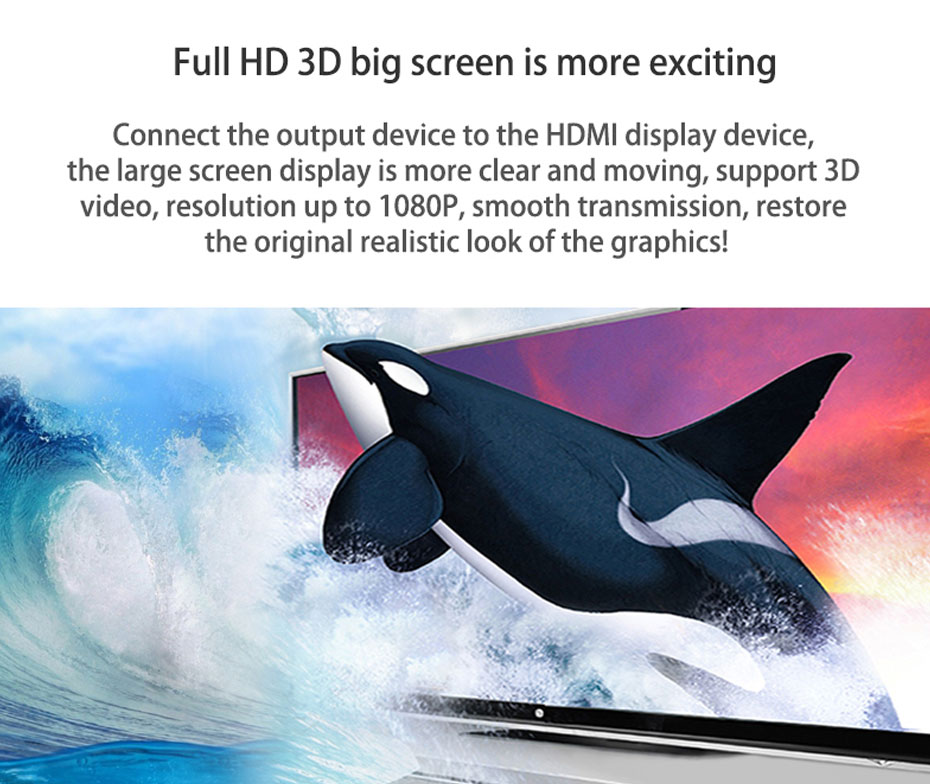 HDMI matrix 4 in 4 out 414H support 3D